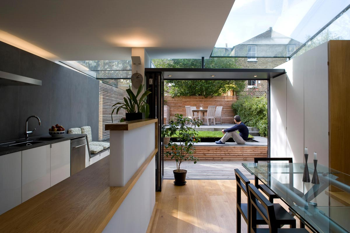 house extension in London by Extend a Space