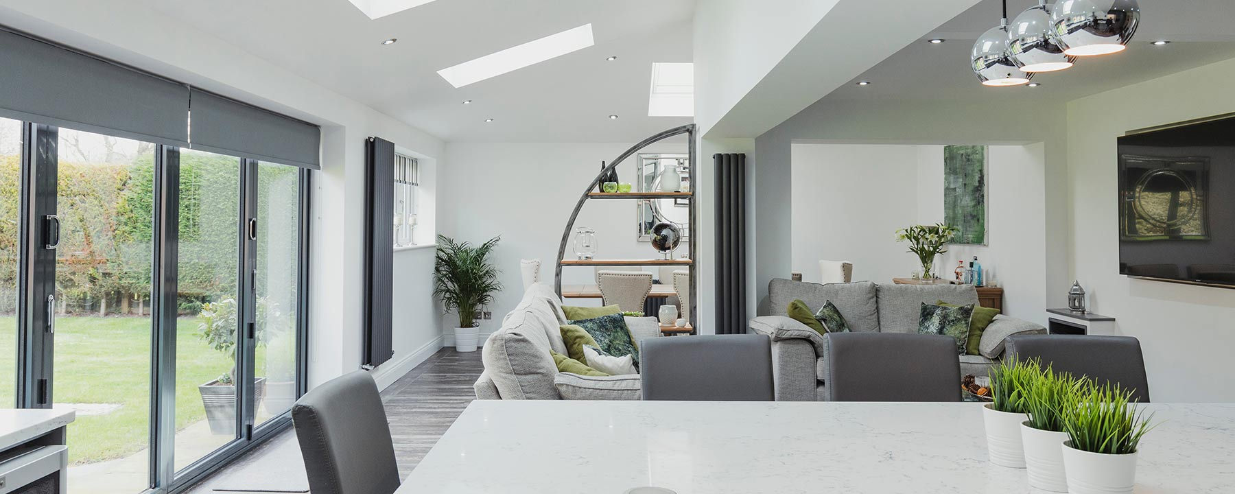 open plan living home extension in London